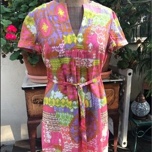 Trina Turk 60's style shift dress